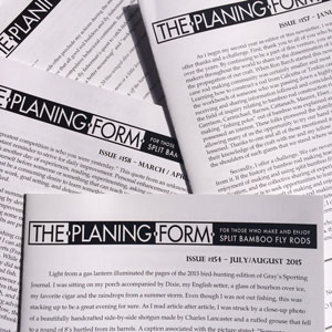 The Planing Form