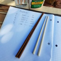 Making Bamboo Chopsticks
