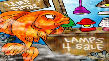 do goldfish need light