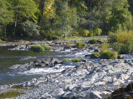 South Umpqua River Bedrock