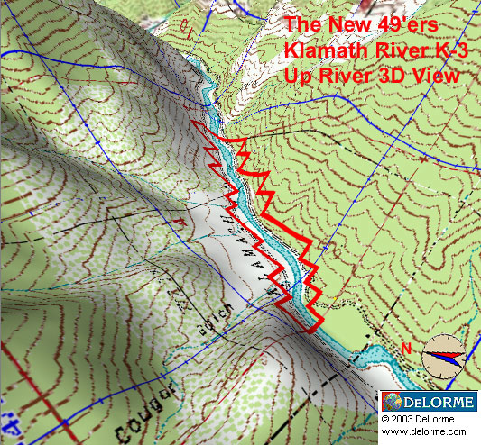 K-3 - Gottville Claims - Up River View