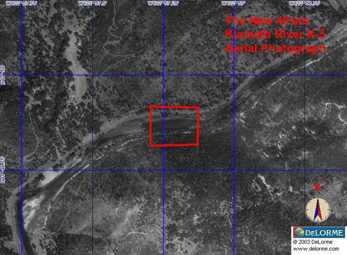 K-5 - Ten Spot Claim - Aerial View