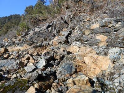 Breaking bedrock