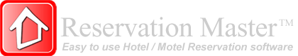 Reservation Master, Motel Hotel reservation software