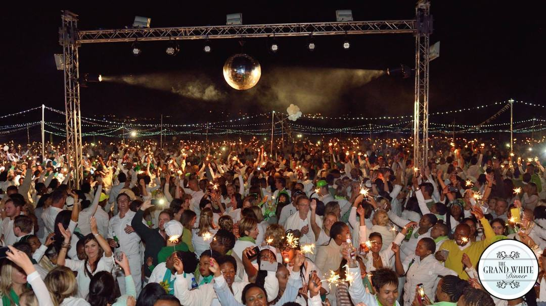 The Grand White Johannesburg Audience 6,500+