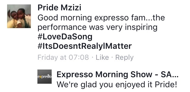 #ThisIsMyFire Pride #ExpressoShow