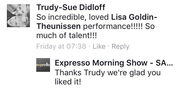 #ThisIsMyFire Trudy #ExpressoShow