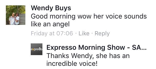 #ThisIsMyFire Wendy #ExpressoShow