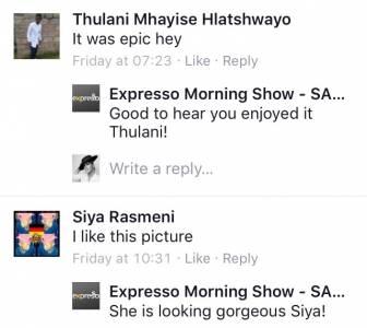 #ThisIsMyFire #ExpressoShow Fans7