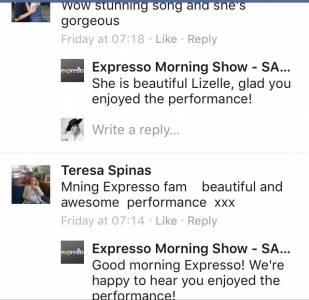 #ThisIsMyFire Lizelle & Teresa #ExpressoShow