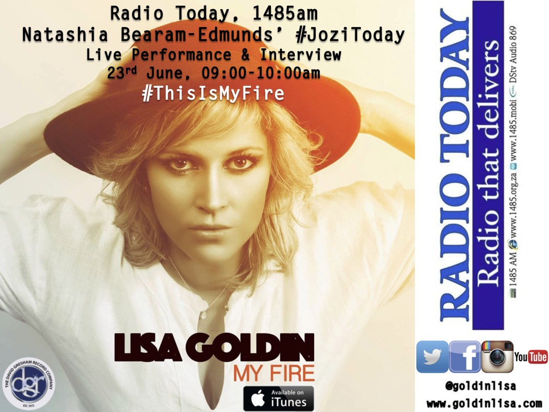 Radio Today Show, 23rd June - Lisa Goldin