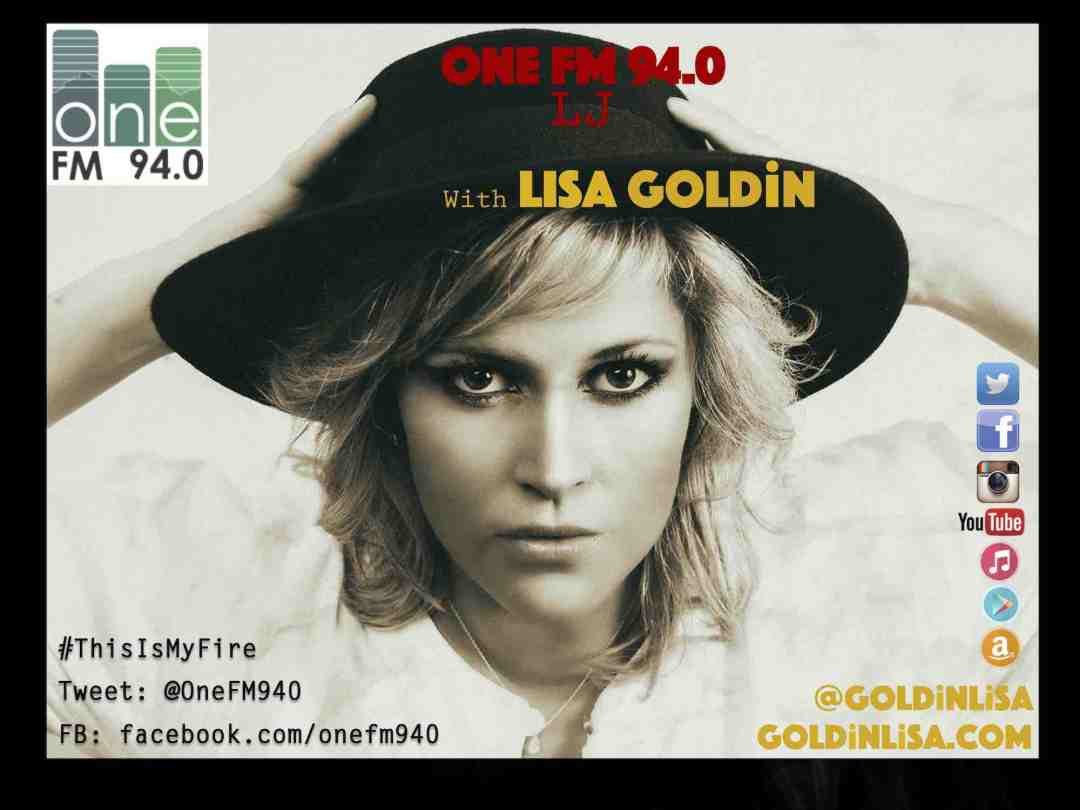 Lisa Goldin - OneFM, 29th September