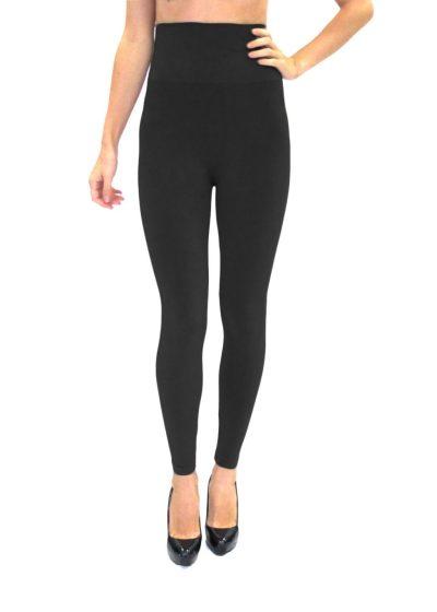 High Waisted Black Leggings, High Waisted Black Leggings Product Image on Model