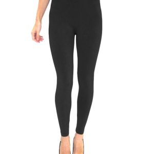 High Waisted Black Leggings, High Waisted Black Leggings Product Image on Model