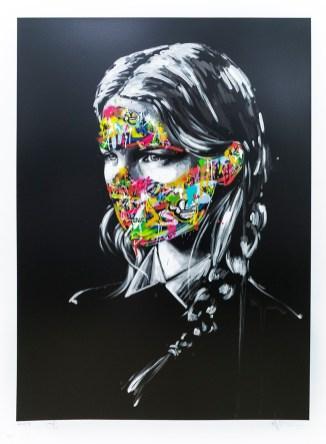 Sandra Chevrier + Martin Whatson - 22 Layer silkscreen - 2016