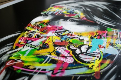 Sandra Chevrier + Martin Whatson - 22 Layer silkscreen (detail) - 2016