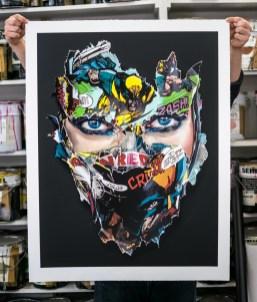 25 layer screen print produced for Graffiti Prints - 2019