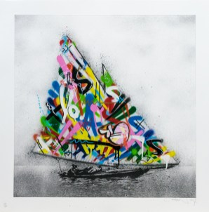 Martin Whatson - Boat - Hand finished Photo-polymer etching, 2017