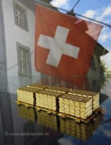 Gold, Schweiz (Foto: Goldreporter)