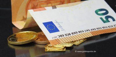 Gold, Bargeld, anonym, Grenze (Foto: Goldreporter)