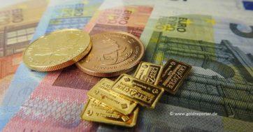 Gold, Goldpreis, Euro, Februar (Foto: Goldreporter)
