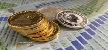 Gold, Silber, Goldmünzen, Silbermünzen (Foto: Goldreporter)