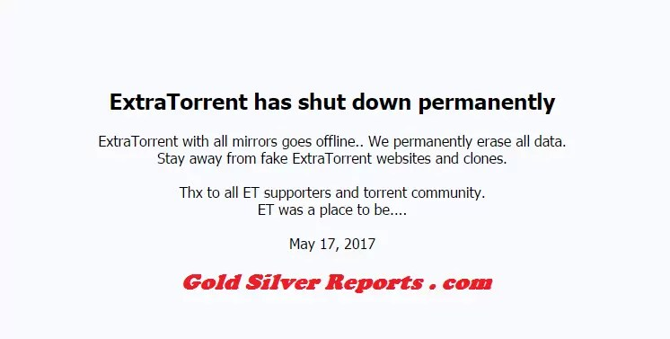 is extratorrent down?