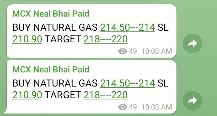 NATURAL GAS Tips Today