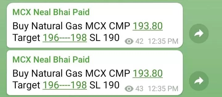 Natural Gas MCX Tips Today