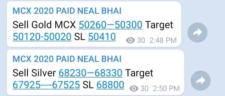 Silver Gold MCX Tips Today Rocking, Gold Silver Pani Pani – Neal Bhai via @goldsilverrepor