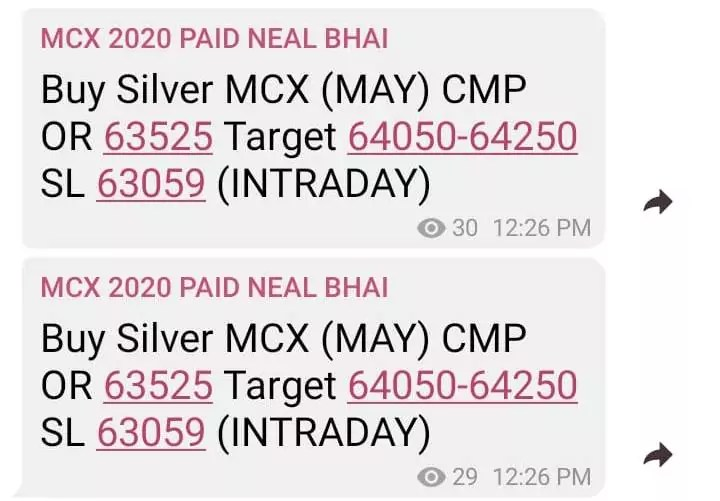 SILVER MCX TIPS TODAY