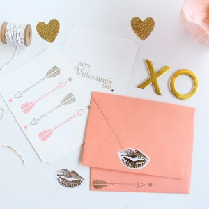 Heart and Arrow Valentines by Gold Standard Workshop