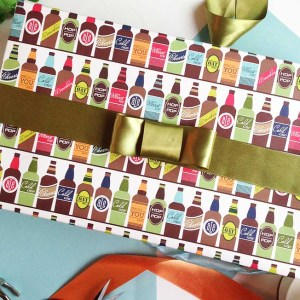 Wrap It Wednesday: Gift Wrap for Guys by Gold Standard Workshop