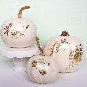 DIY Tattoo Pumpkins by Gold Standard Workshop