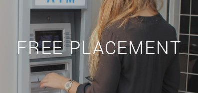 Free ATM Placement in SE Portland Metro