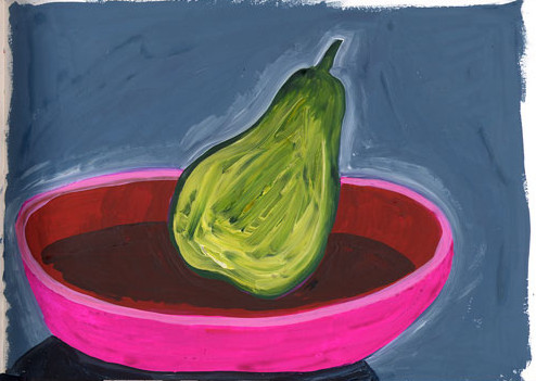 pear-painting