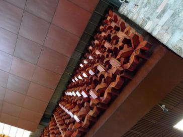 Interior wood decoration