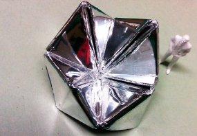 Maquette for chrome fortune teller