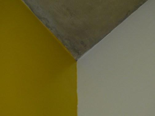 Three colours concrete