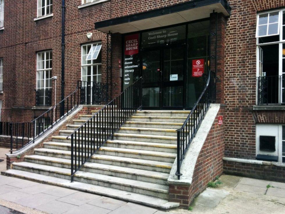 Cecil Sharp House entrance