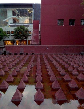 Plaza Juárez in Mexico City, designed by Ricardo Legorreta / Vicente Rojo