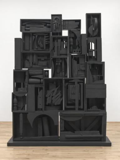 Black Wall 1959 Louise Nevelson 1899-1988 Presented by the Friends of the Tate Gallery 1962 http://www.tate.org.uk/art/work/T00514