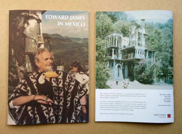 'Edward James in Mexico Symposium' booklet