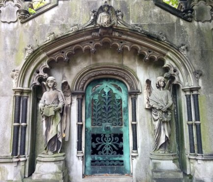 Mausoleum detail