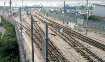 Leyton railway tracks