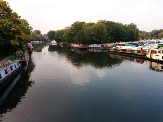 River Lea canal boats