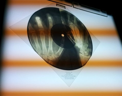 X-ray Audio - flexi-disc included in the limited edition books