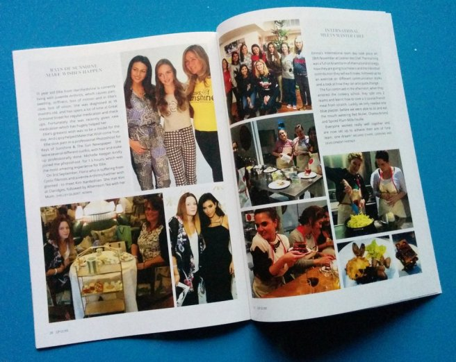 Lipsy in-house magazine - after I'd re-designed it