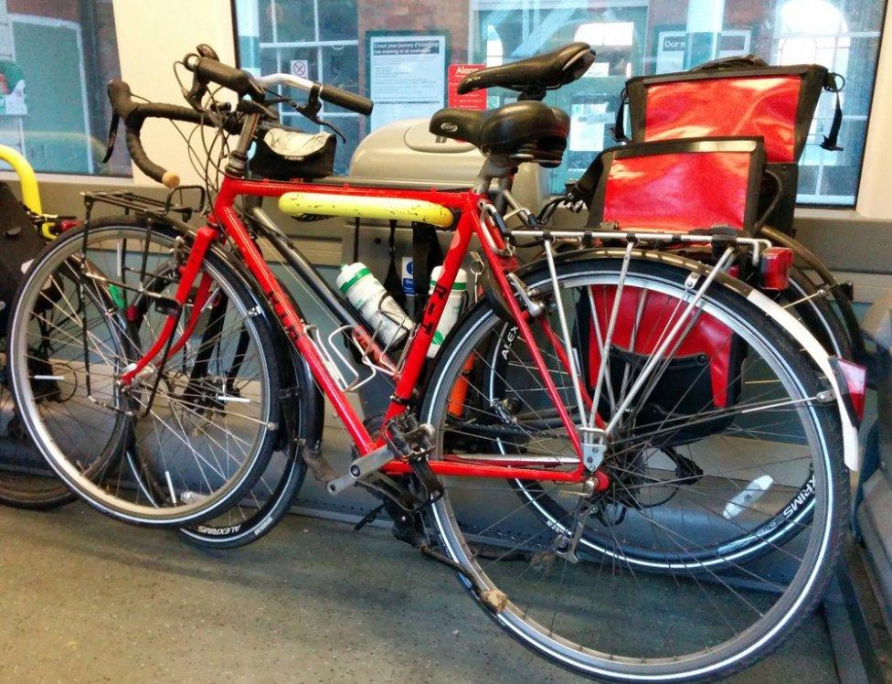 Southern bike racks