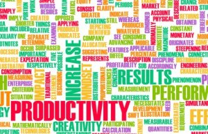 ergonomics in the workplace benefits word cloud